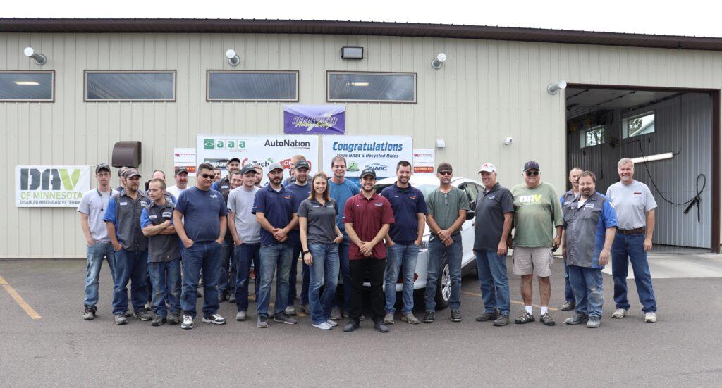 The Arrowhead Auto Body Team